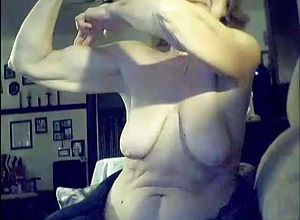 Webcam,mature,tits,granny