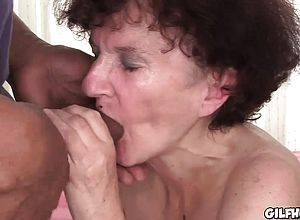 Brunette,fetish,granny,interracial,small Boobies