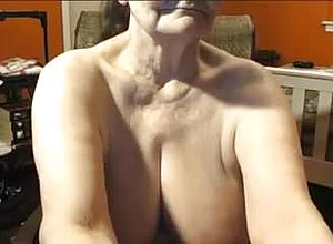 Webcam,blonde,granny,big Congenital tits,canadian,big orbs