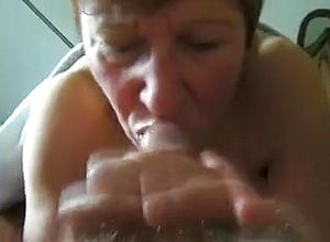 straight,grannies,brunette,blowjob,close Up