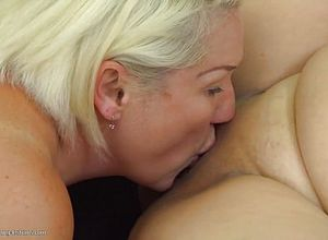Granny,lesbian,matures,milf,old young,threesome,young