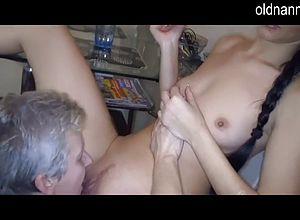 Granny,lesbian,matures,sexy,young