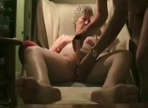 Straight,couple,grannies,masturbation,smoking