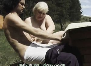 thick Boobs,blonde,blowjob,granny,handjob,outdoor,titjob
