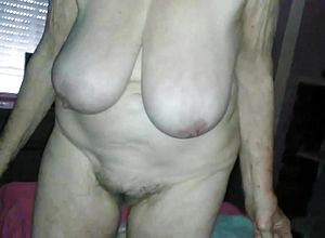 Hairy,granny,hd videos,saggy tits,big Melons