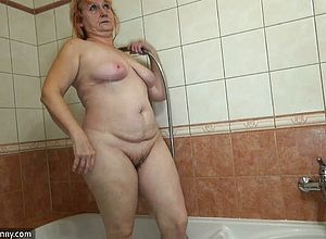 granny,hardcore,lesbian,oldyoung,shower,toys