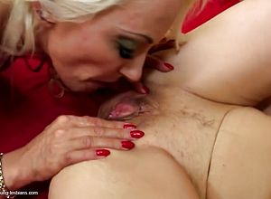 Granny,lesbian,milf,matures,old young,young