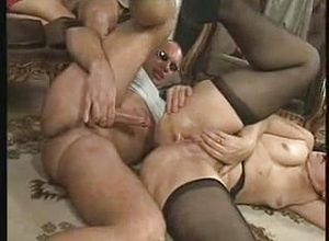 grannies,group Sex,mature