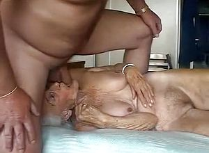 Straight,grannies,blowjob