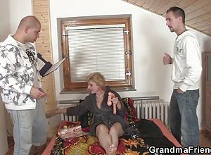 granny,matures,milf,old young,reality,threesome,tits,wife