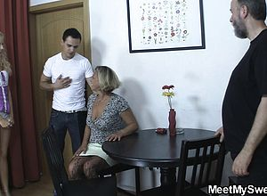 Blonde,blowjob,czech,granny,hardcore,mature,oldyoung,threesome