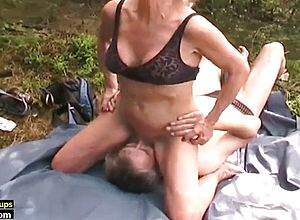 Amateur,blowjobs,granny,outdoor,hairy,face sitting,old young