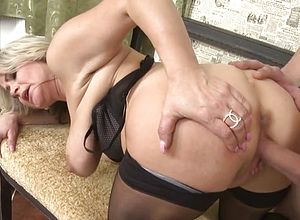 Post orgasm handjob video