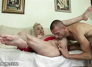 thick boobs,blonde,european,fingering,granny,hardcore