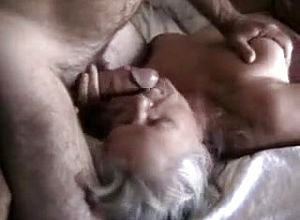 Straight,grannies,blonde,blowjob,close Up