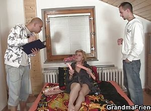 granny,matures,milf,old young,reality,threesome,wife