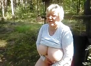 Straight,fetish,blonde,grannies,big tits,big Natural tits,outdoor