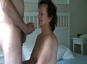 straight,brunette,blowjob,close Up,grannies,couple