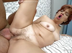 big Tits,matures,blowjobs,granny,licking,doggy style,short hair,riding