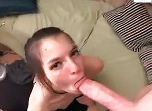 Straight,blowjob,brunette,handjob,toys