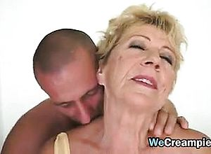 Large boobs,blonde,granny,hairy,hardcore,oldyoung