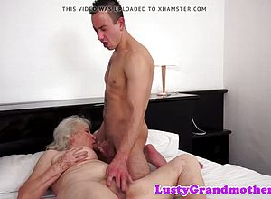Beauty,granny,old Young,seduced,young