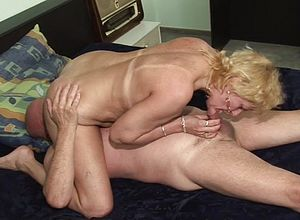 Blonde,blowjobs,dildo,granny,horny,big cock