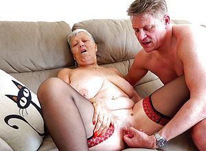 Mature,british,granny,mature Amateur,short Hair