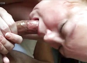 blowjobs,granny,sucking,big Cock