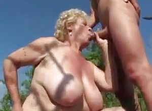 Thick Innate tits,grannies