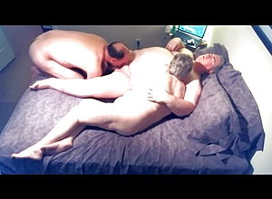 Amateur,blowjob,mature,bisexual,granny,eating pussy,threesome