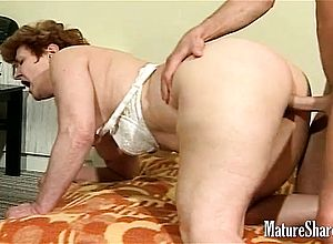 Doggystyle,fingering,granny,lick,mature